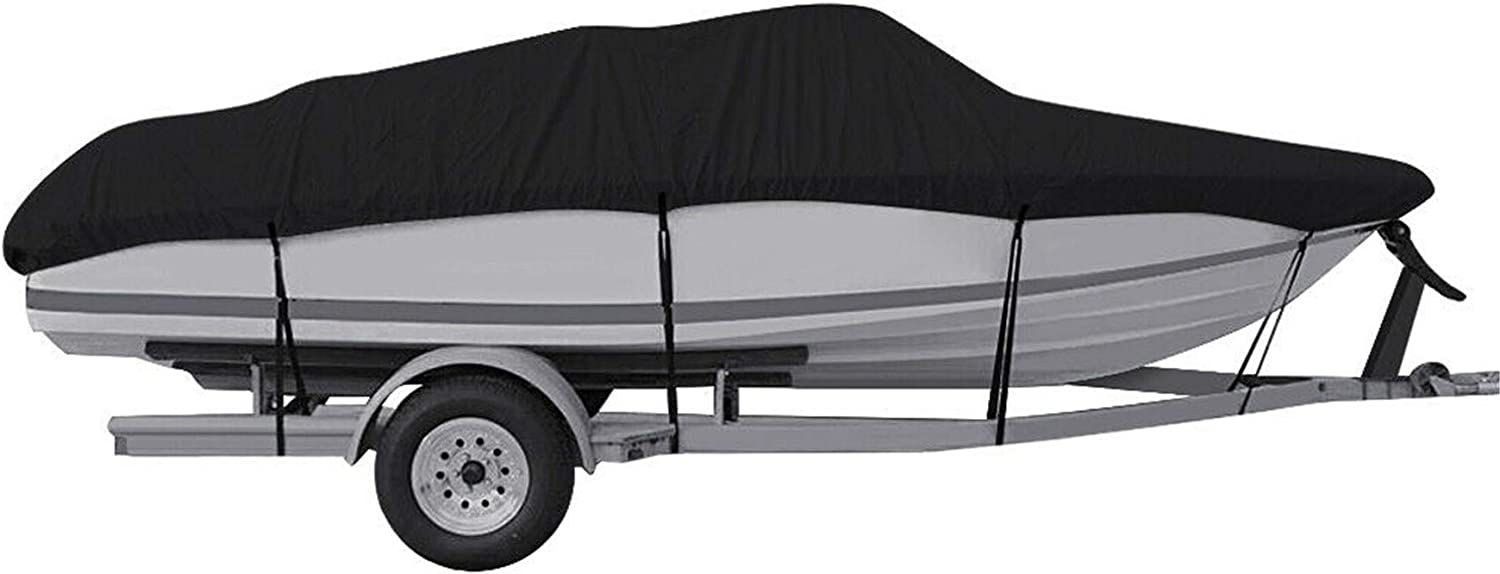 WFLNHB Waterproof Heavy Free shipping Duty 210D Trailerable Fishing Boat Cover Cheap mail order sales