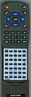 Replacement Remote Control for Philips 996510056836, DVP2880, DVP3602, RT996510056836, DVP2880/F7, DVP2880F7