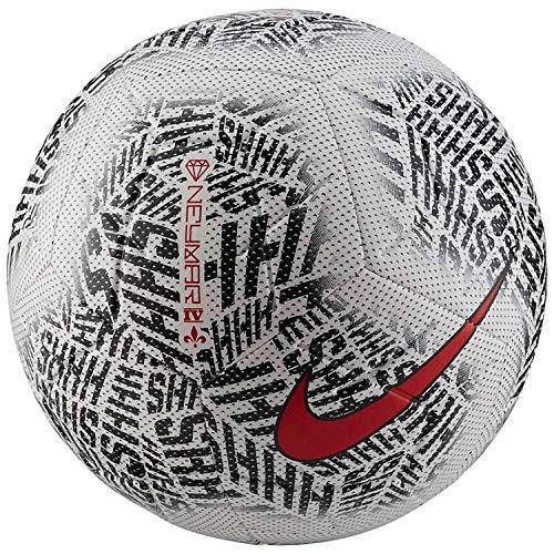 Nike NYMR NK STRK - NEW Pallone, Uomo, white black challenge red, 5