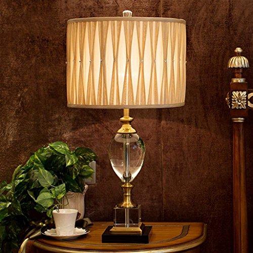 DSJ kristallen decoratie tafellamp Europese stijl woonkamer tafellamp luxe bedlampje slaapkamer tafellamp