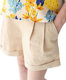 72263084181b Foucome Maternity Shorts Summer Pregnant Women Shorts Linen Pants Care  Belly Denim Cotton