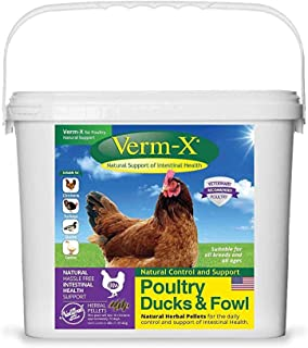 Verm-X Poultry Ducks & Fowl Natural Support Intestinal Health 4Lbs