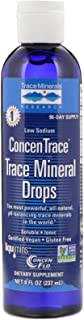 Trace Minerals Research Low Sodium ConcenTrace Trace Mineral Drops - 8 fl oz