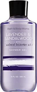 Bath and Body Works Signature Collection Lavender & Sandalwood Shower Gel with Natural Lavender Oil