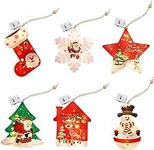 Fenteer Led-lichtsnoer voor Kerstmis, decoratie, USB, voor kinderkamer, slaapkamer, keuken, feest, kerstboom, decoratie, rood