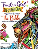 Trust in God: Inspirational Quotes From The Bible: An Adult Coloring Book (Bible Quotes Coloring Book)