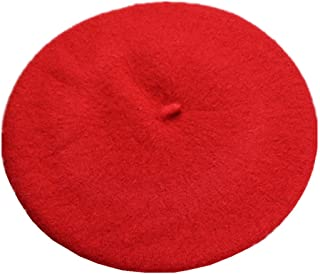 JOYHY Kids Girls Boys Solid Color Classic French Style Beret Beanie Hat
