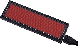110-240V RODE LED Scrolling Sign Naam Badge Bericht Tag Display Board