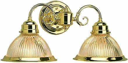 Design House 503029 Millbridge 2 Light Wall Light, Polished Brass