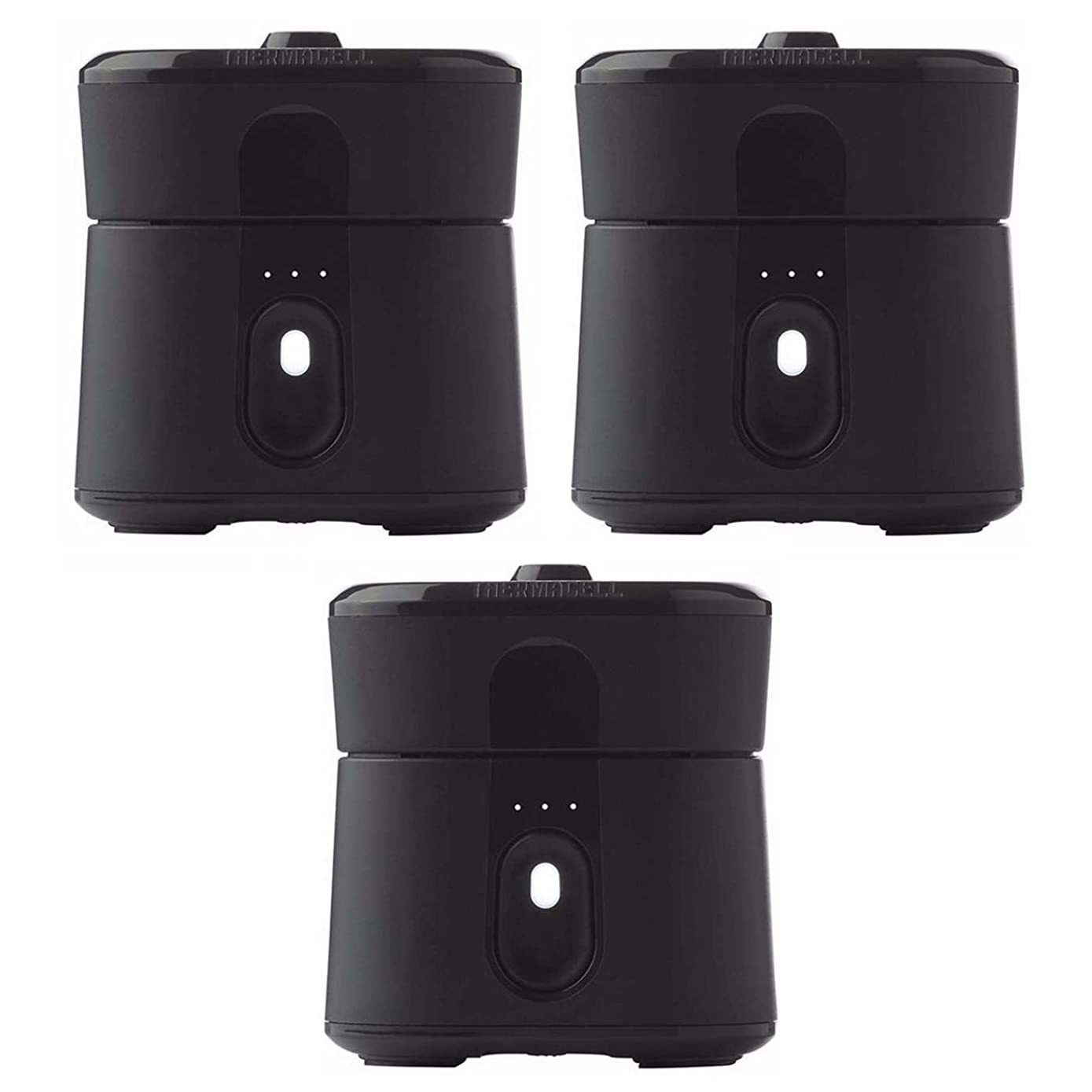Thermacell Radius Zone Pocket-Sized Mosquito Repelling Device (Black) 3-Pack: Each Protects 110 Sq. Ft. Zone