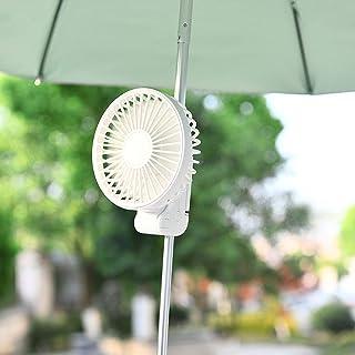 YGJ 手持ち扇風機 扇風機 ハンディ 超静音 折り畳み 3段階調節 ハンディファン 卓上扇風機 静音 扇風機 クリップ 2021年最新 日本語説明書と収納袋 付き