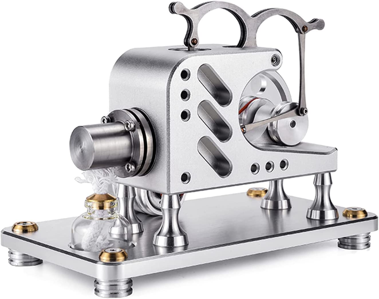 XYW Hot Air Stirling Engine DIY Powerful Surprise price Cylinder Machine 1 Mode Translated