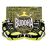 Buddha Fight Wear Zapatos de Boxeo One Amarillos-Negros