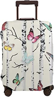 Valise de voyage valise rigide valise trolley Set Motif Fleur Orchidée Butterfly
