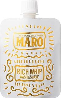 MARO 泥 泡 洗顔 メンズ シェービング&洗顔フォーム リッチホイップ 100g