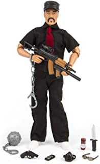 """Click N' Play Enemy Commando Gangster 12"""" Action Figure Play Set with Accessories"""