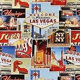 Fabulous Las Vegas — Meterware ab 0,5m — zum Nähen von