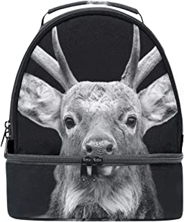 Mydaily Kids Lunch Box Deer Reusable Insulated School Lunch Tote Bag