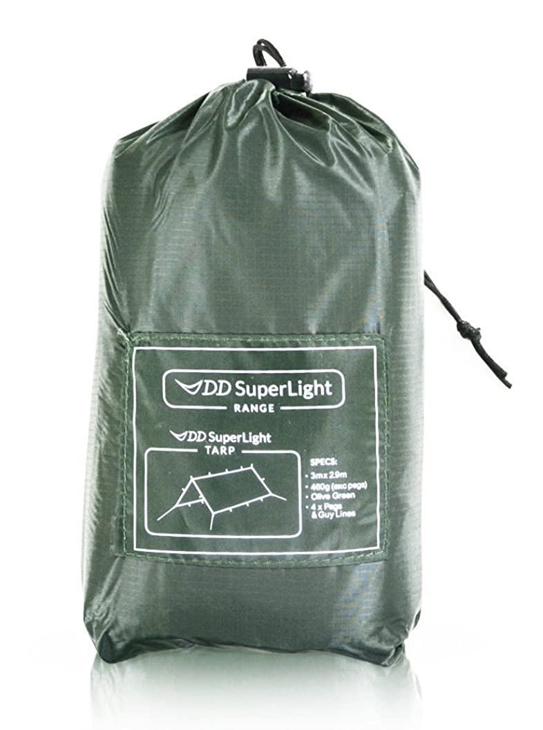 ロケット容疑者加害者DD SuperLight Tarp スーパーライト タープ 軽量でコンパクト ハンモックシェルターにも最適 [並行輸入品]