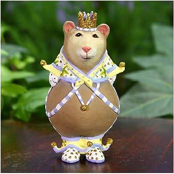 Patience Brewster Mini Albert Bear Christmas Figural Ornament #31023