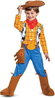 Disney Pixar Woody Toy Story 4 Deluxe Boys' Costume