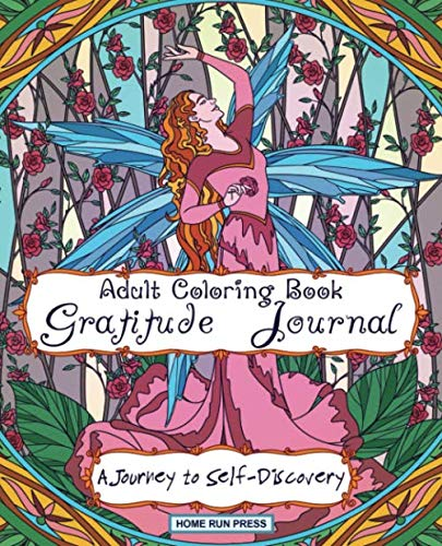 Image OfAdult Coloring Book Gratitude Journal: Journal For Women, Self Help Book For Women