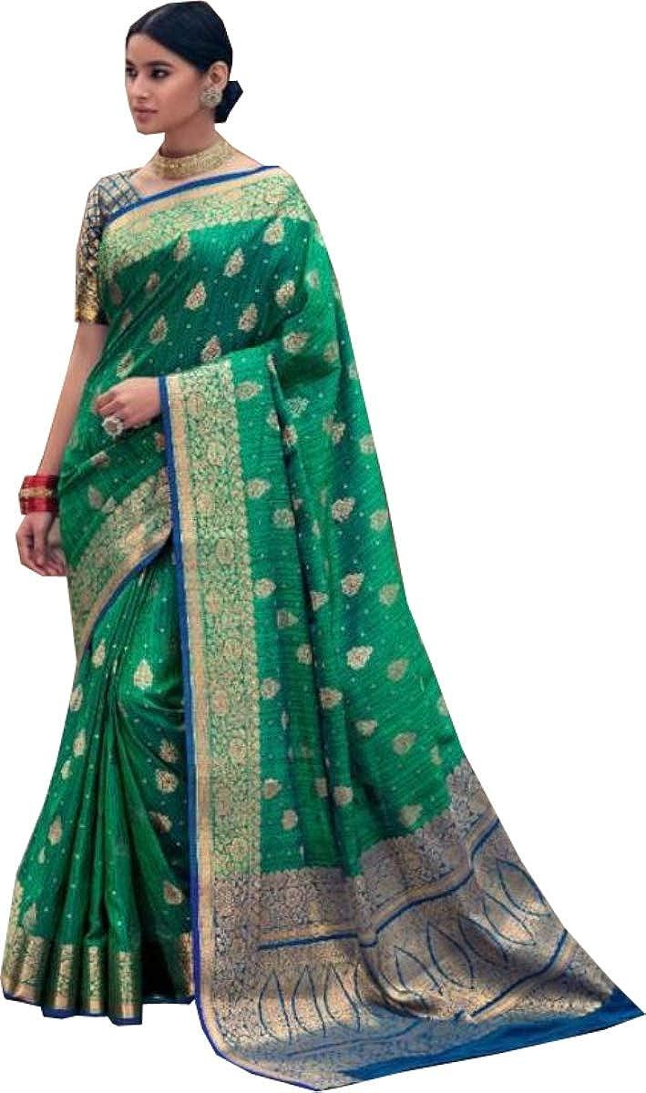 Indian Saree Banarasi Silk Saree Party Wear Saree Wedding Wear Saree Banarasi Saree Silk Sari Ethnic Wear Sari B 168
