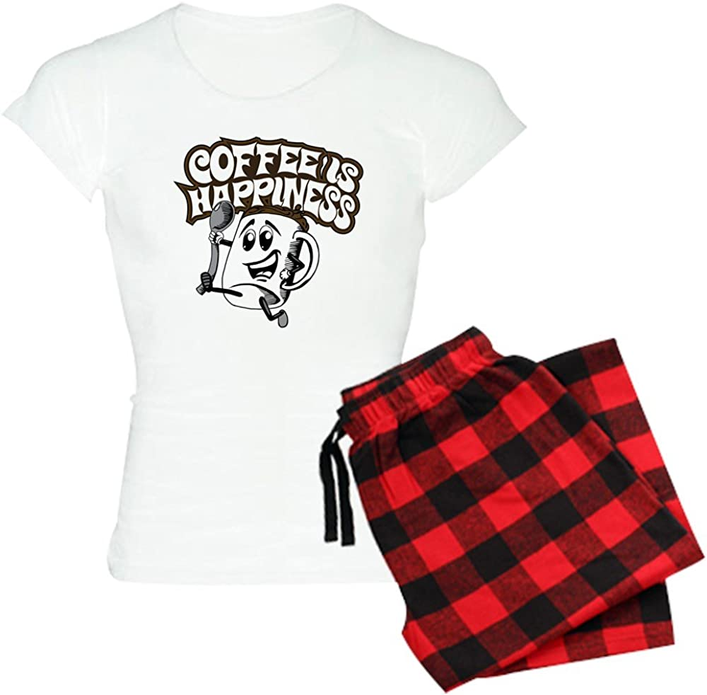 Sale Special Price CafePress Coffee is Women's Manufacturer regenerated product PJs Happiness