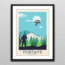 Battle Royale Landscape - Gaming Poster