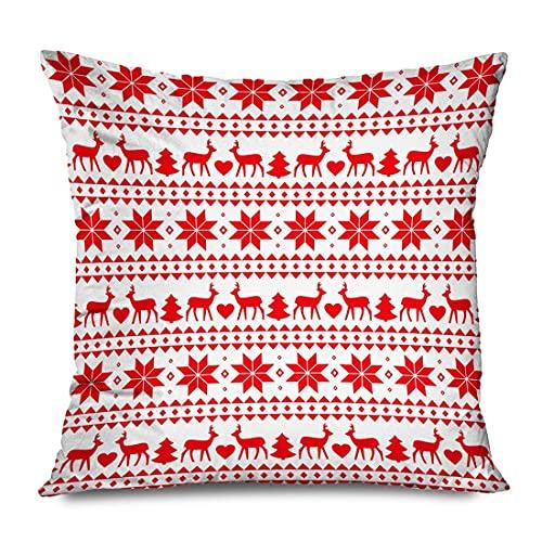 XCNGG Funda de Almohada Linen Throw Pillow Cover Case Massachusetts Maps Decorative Pillow Cases Covers Home Decor Square 20 X 20 Inches Pillowcas...