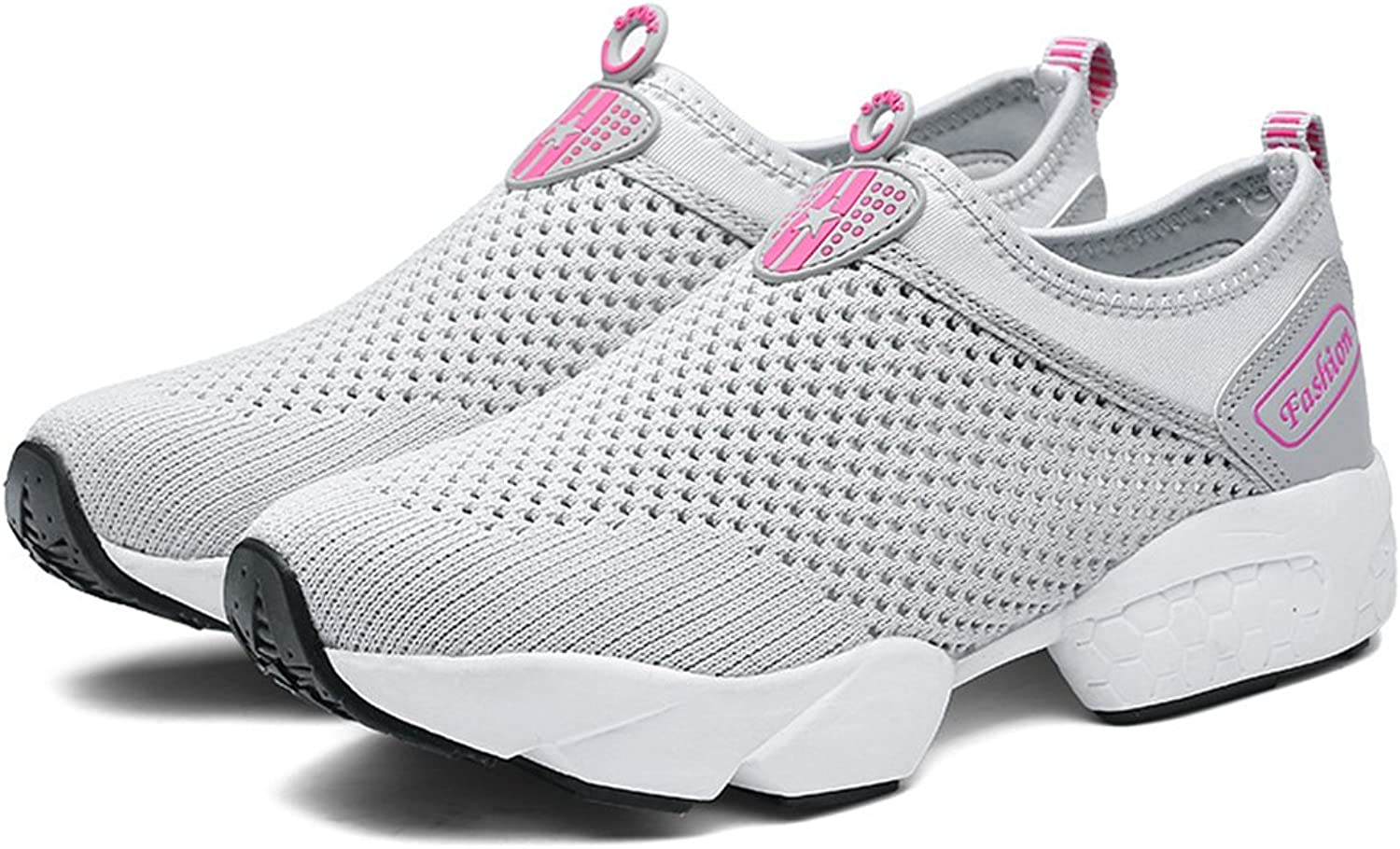 Pit4tk Womens Summer Breathable Mesh Lightweight Mesh Clog Quick Drying shoes Footwear Anti-Slip shoes