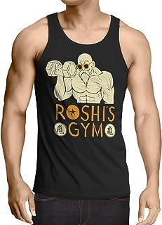 style3 Roshi Dragon Master Camiseta de Tirantes para Hombre Tank Top Turtle Ball