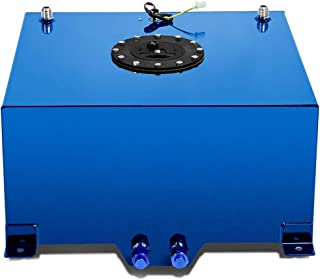 DNA MOTORING Blue ALU-FT-T4-BL Aluminum 10-Gallon Fuel Cell Gas Tank