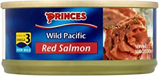 Princes Wild Pacific Red Salmon (105g) - Pack of 6
