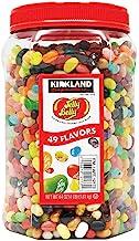 Kirkland Signature Jelly Belly 49 Flavors Of The Original Gourmet Jelly Bean - 4 Lb (64 Oz) Jar - Cos15
