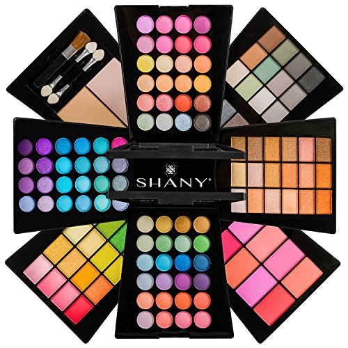 The SHANY Beauty Cliche - Makeup Palette - All-in-One Makeup Set with Eyeshadows, Face Powders, and Blushes