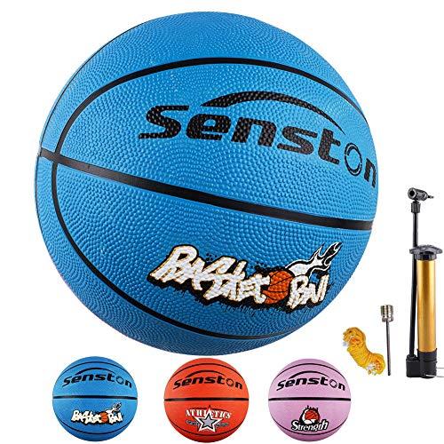 Senston Kinder Basketball Größe 5 Basketbälle Gummibasketball