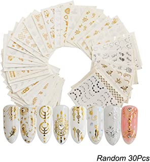 Best lace nail transfers Reviews