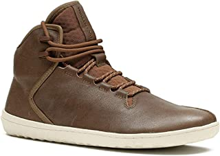 Borough, Mens Leather Luxury Sneaker Boot with Barefoot Sole & Thermal Protection
