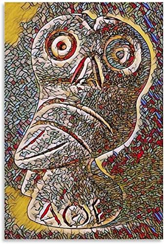 TANXM Impresión del Arte de la Pared 60x80cm Sin Marco Póster Art Nouveau de Alta Vida sueño de Androides con ovejas eléctricas Sala de Estar Decorativa Oficina en casa Ocio