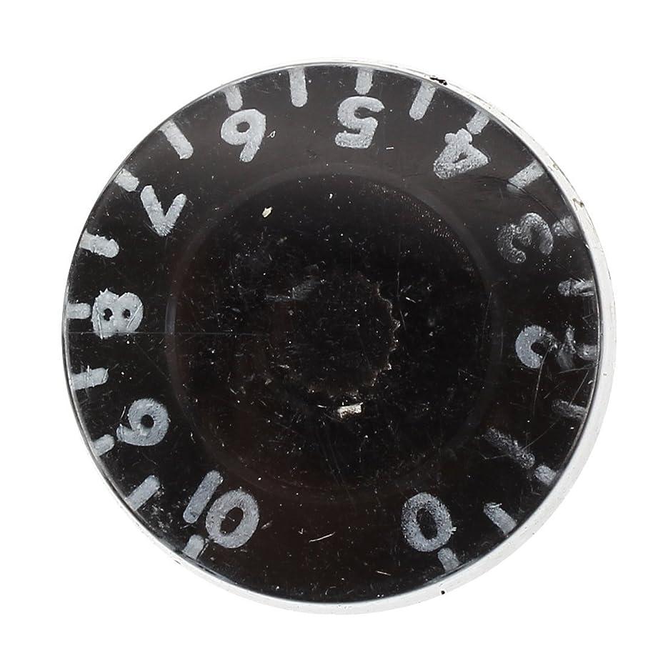 首謀者解説廃棄するMyoffice 4個 スピードコントロールノブ ブラック LP交換品 エレクトリックギター部品