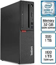 $1199 » VCI Lenovo ThinkCentre M720 M720s Intel Core i7-8700 (6-core) 3.2 GHz up to 4.6 GHz, 32GB RAM, 1TB SSD, 1TB HDD, DVD-Writer, Windows 10 Pro