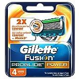 Ancienne Version/Gillette Fusion ProGlide Power Lames De Rasoir Pour Homme - 4Recharges