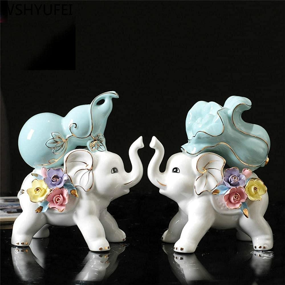 QYSEK Handmade Sculptures Ceramic Popular brand in the world Figurines Crafts Animal Home D Max 83% OFF