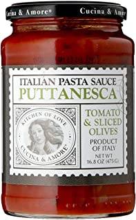 Kitchen & Love Puttanesca Pasta Sauce (Olive), 475g