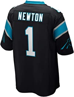 Men's/Women's/Youth Cam #1 Black Newton Game Jersey