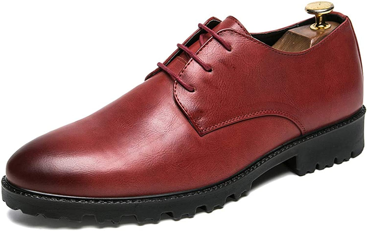 Z.L.F shoes Men's Business Oxford Casual Simple British Style Formal shoes Leather shoes