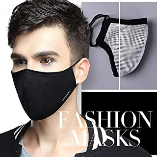 Tvoip Fashion Style Mask On The Mouth Anti dust mouth mask Activated Carbon Filter..