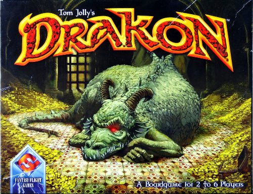 Fantasy Flight Games FFTJ0001 - Drakon [Spiel]