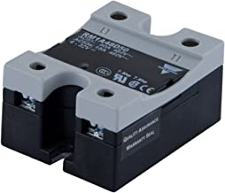 CARLO GAVAZZI RM1A23D50 Hockey Puck, Solid State Relay, Maximum 50 amp AC Switching, Up to 3 hp Rated, 3-32 VDC Control Voltage, 24-265 VAC Switching, 650 Vp Blocking Voltage, IP20 Cover, Diagnostic LED, 2.4 oz. Size, 35 mm Height x 65 mm Width x 50 mm Diameter